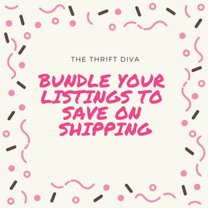 Bundle Ur Listings and save on Shipping